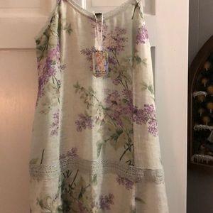 April Cornell Dresses - April Cornell Lilac Linen Dress